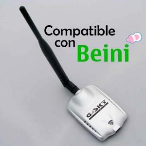 adaptador wifi compatible ocn beini